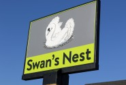Swans Nest sign sm