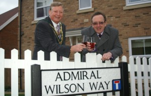 Admiral Wilson Way naming 271109 007 500