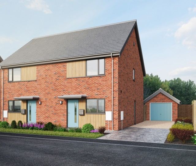 New Homes Bungalows: Plot 167 » New Build Houses And Bungalows For Sale In