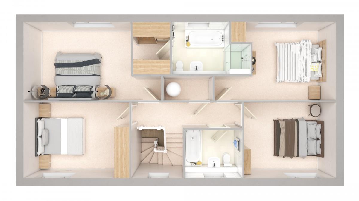 plot 17 the limes little melton abel homes. Black Bedroom Furniture Sets. Home Design Ideas
